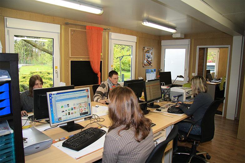 Les bureaux en 2009