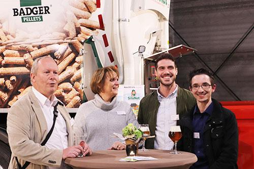 Photo équipe C. Concept inauguration SiloNet